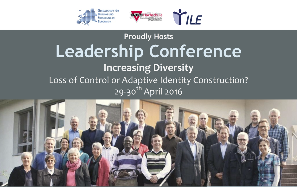 Invitation To Our Leadership Conference 2016 29th April 30th