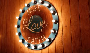 Faith, hope and love as predisposition of homo amans